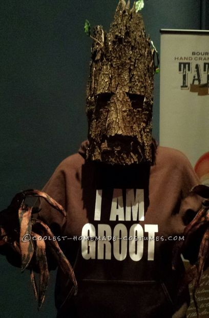 How to Make a Groot Mask for Under $10 - 1