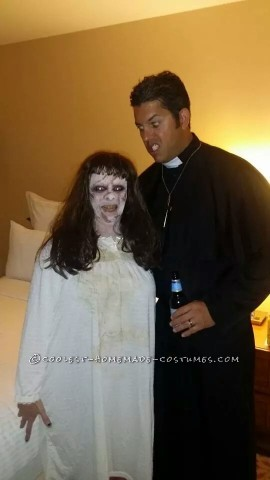 Scary Exorcist Halloween Costume