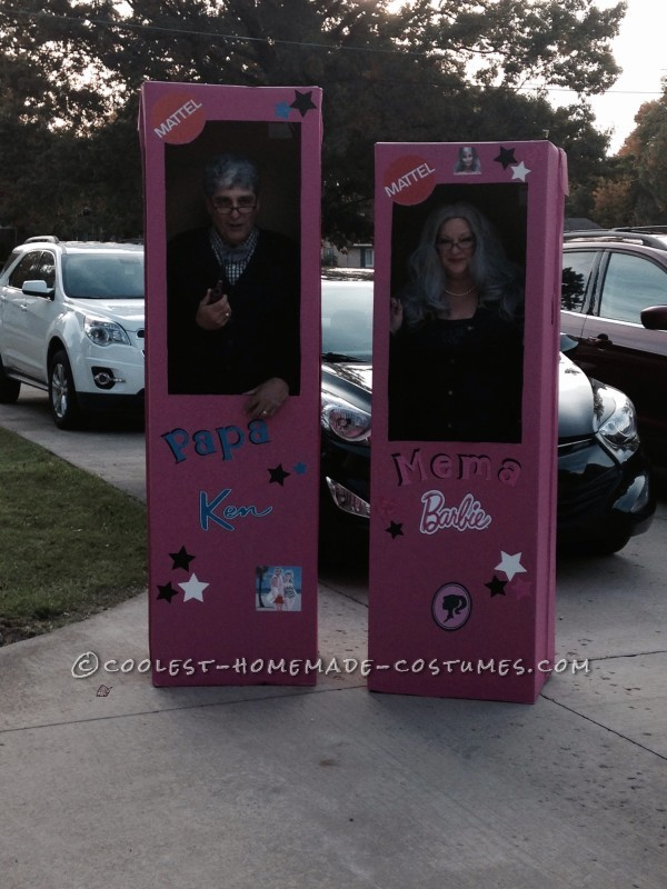 Mema Barbie and Papa Ken Couple Costume - 4