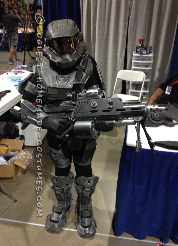 Halo Costume – The First Ever Costume I Built - 3