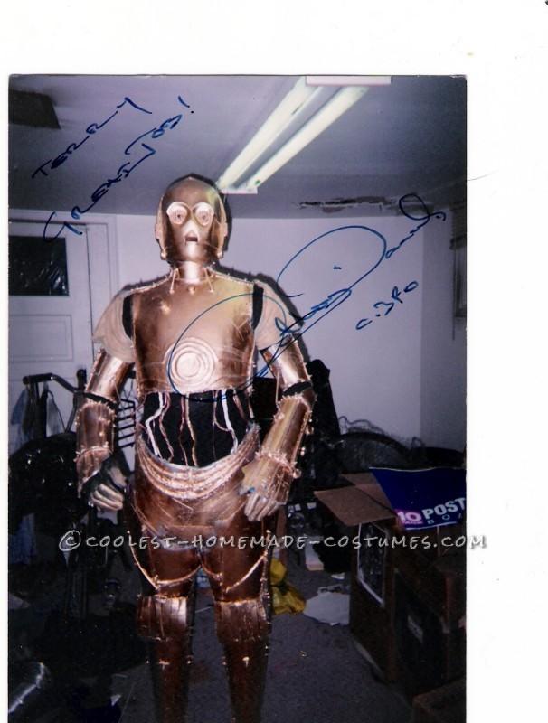 Cool Homemade C3P0 Costume