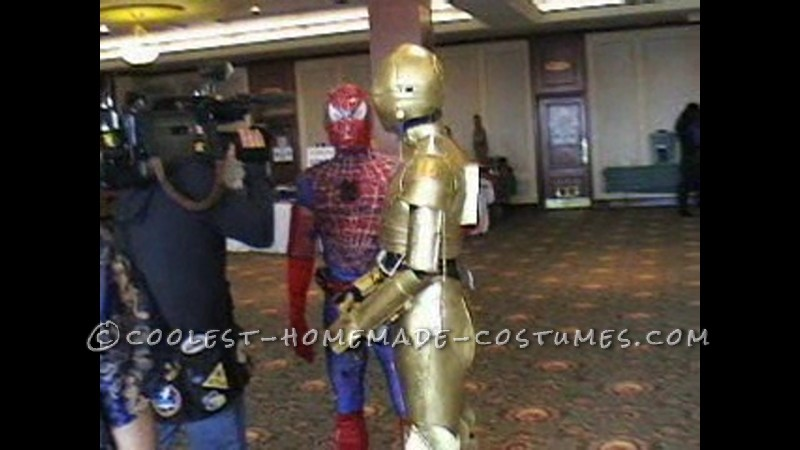 Cool Homemade C3P0 Costume