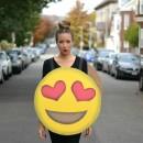 Happy (Heart Eyes) Emoji Halloween Costume