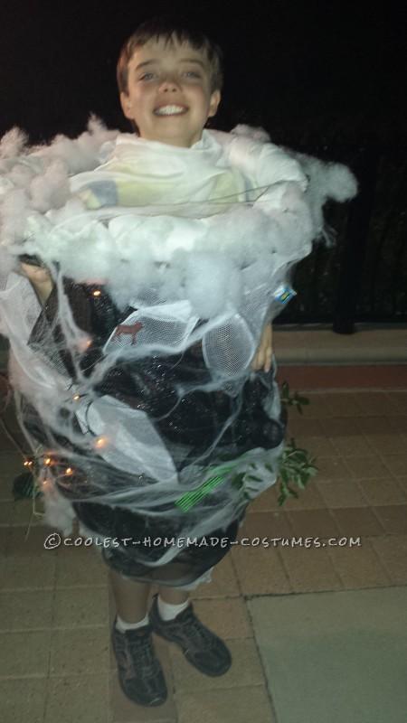 Tornado Costume for Weather Loving Boy
