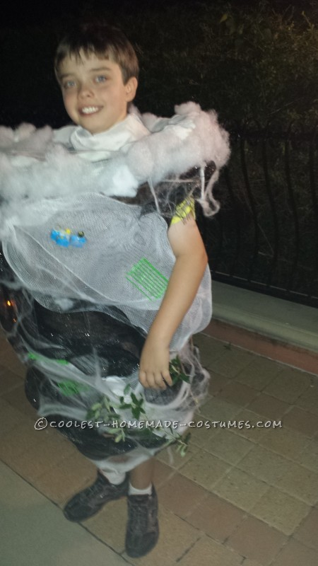 Tornado Costume for Weather Loving Boy