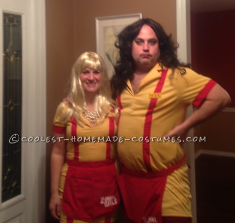 Coolest Homemade 2 Broke Girls Costumes