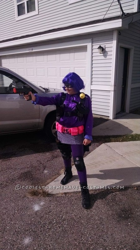 Cool Hit Girl Costume from Kick-Ass
