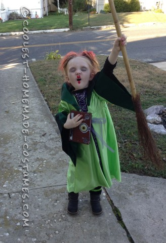 Cute Winifred Sanderson Hocus Pocus Costume for a Girl
