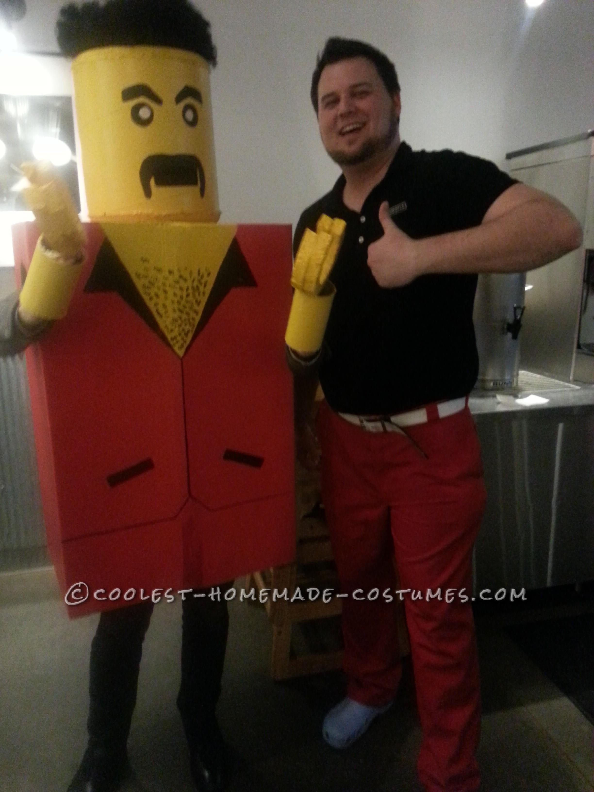 Homemade Lifesize Lego Costume