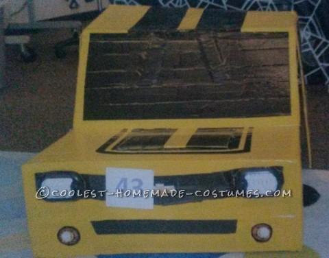 Cool Transforming Bumblebee Transformer Camaro Costume