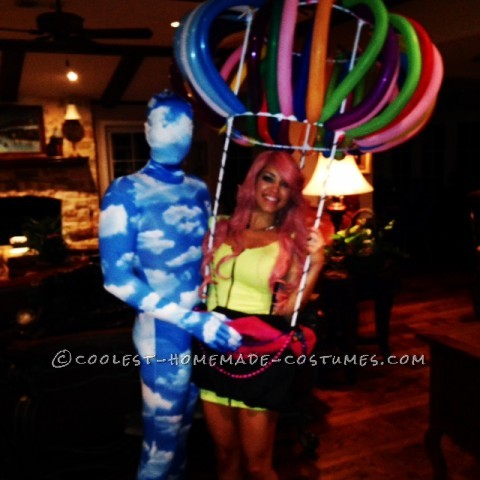 Hot! Hot Air Balloon Costume