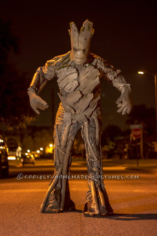 Awesome Homemade Groot Costume