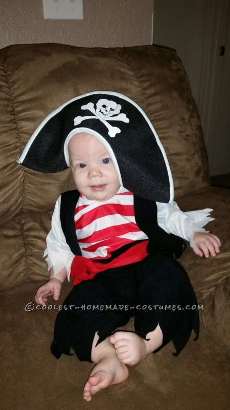 Infant Pirate Ship Stroller Costume
