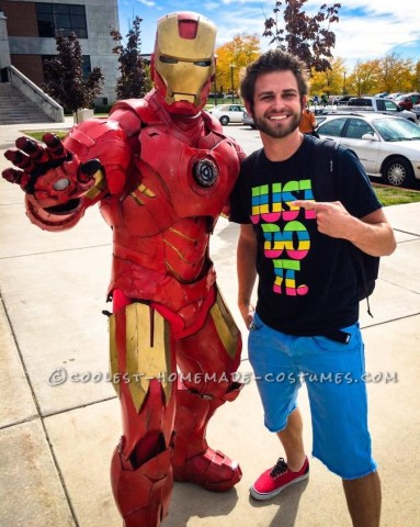 Coolest DIY Iron Man Costume