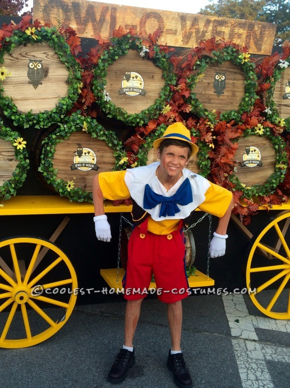 c5e4cc9973c Cool DIY Pinocchio Costume - Real Boy or Not