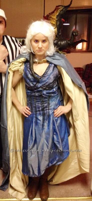 Elaborate Khaleesi – Queen of Dragons Costume - 2