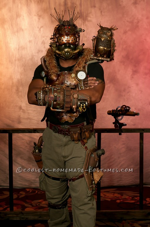 Awesome Homemade Steampunk Costume - 1