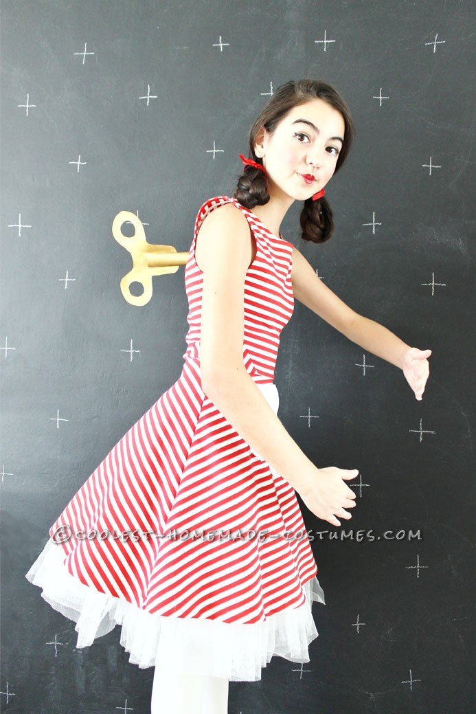 Last Minute 0 Diy Wind Up Doll Costume