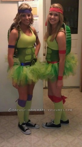 Cute Last Minute Ninja Turtles Costume
