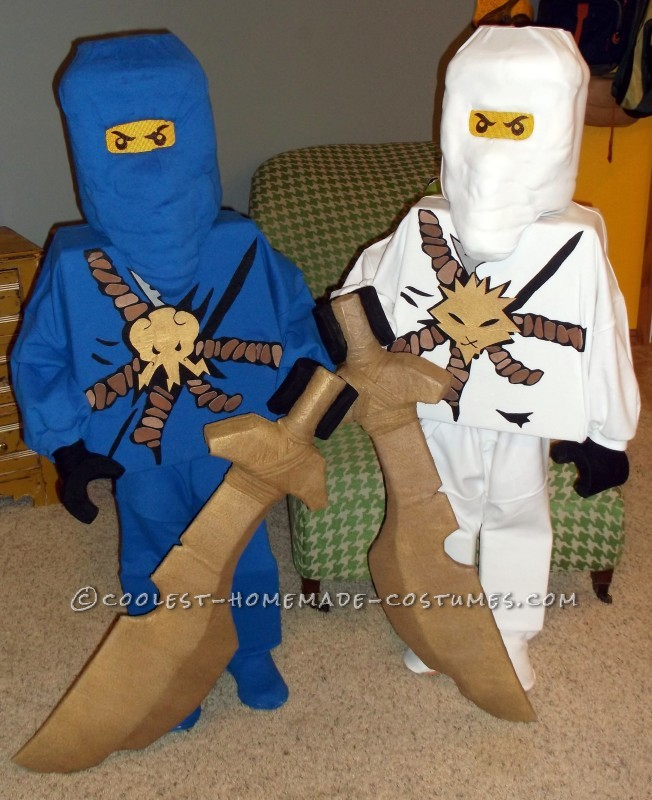 Totally DIY LEGO Ninjago Couple Costume