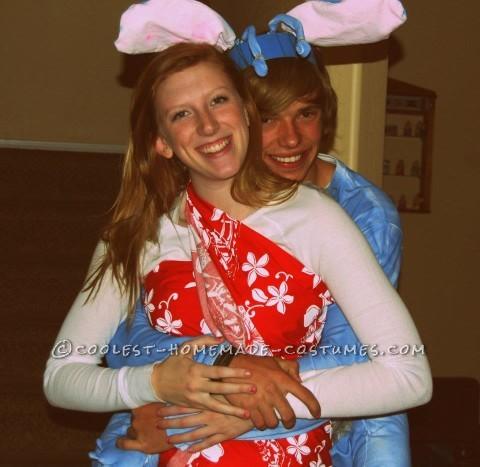 Lilo and Stitch Couple Costume