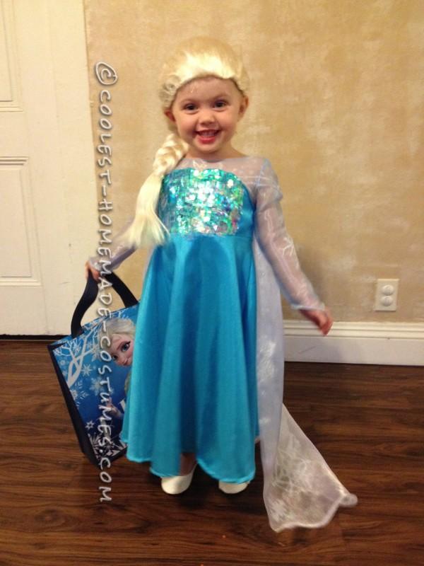 Cool Homemade Queen Elsa Costume - 2