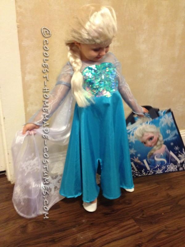Cool Homemade Queen Elsa Costume - 1