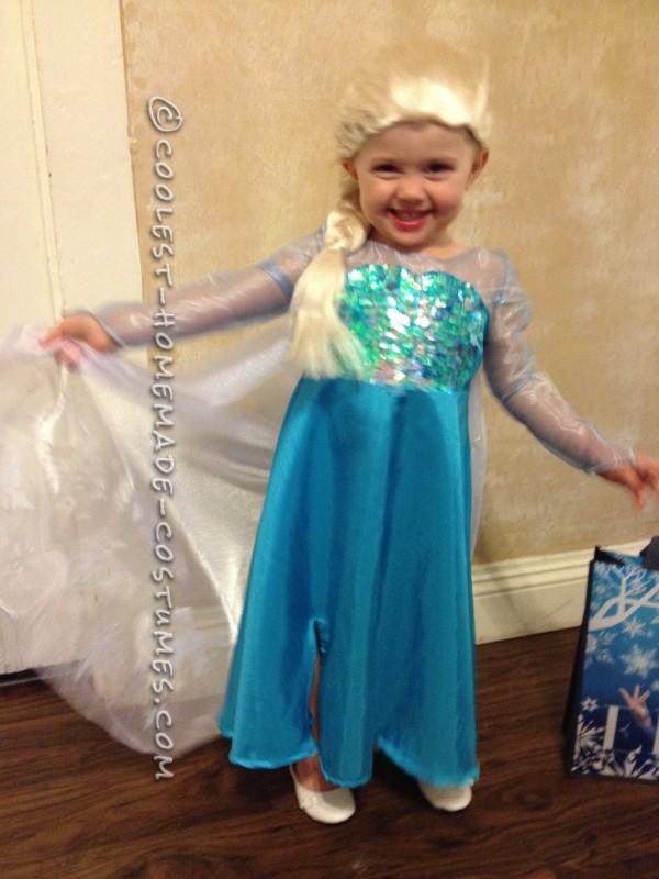 Cool Homemade Queen Elsa Costume