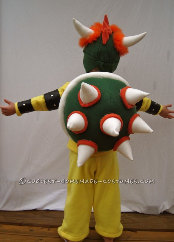 Little Bowser Costume with a Big Attitude