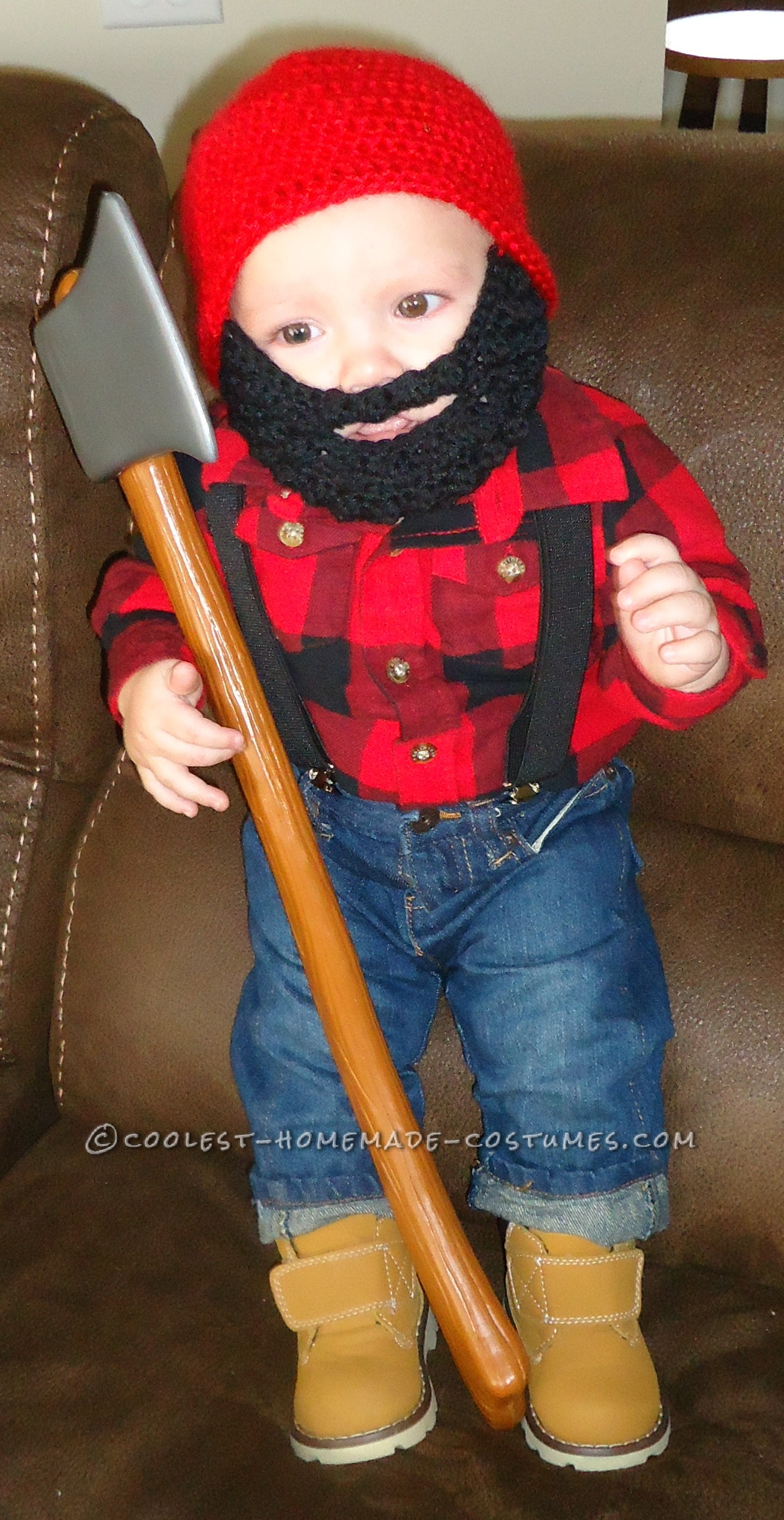 Little Lumberjack Baby Costume