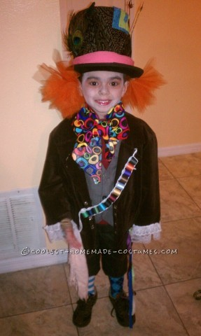 Cool Homemade Costume for a Boy: LiTtle M@d H@tteR