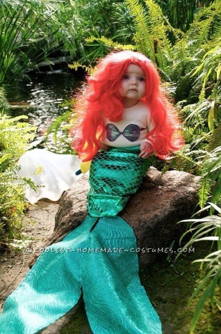 Little Mermaid Baby Costumes