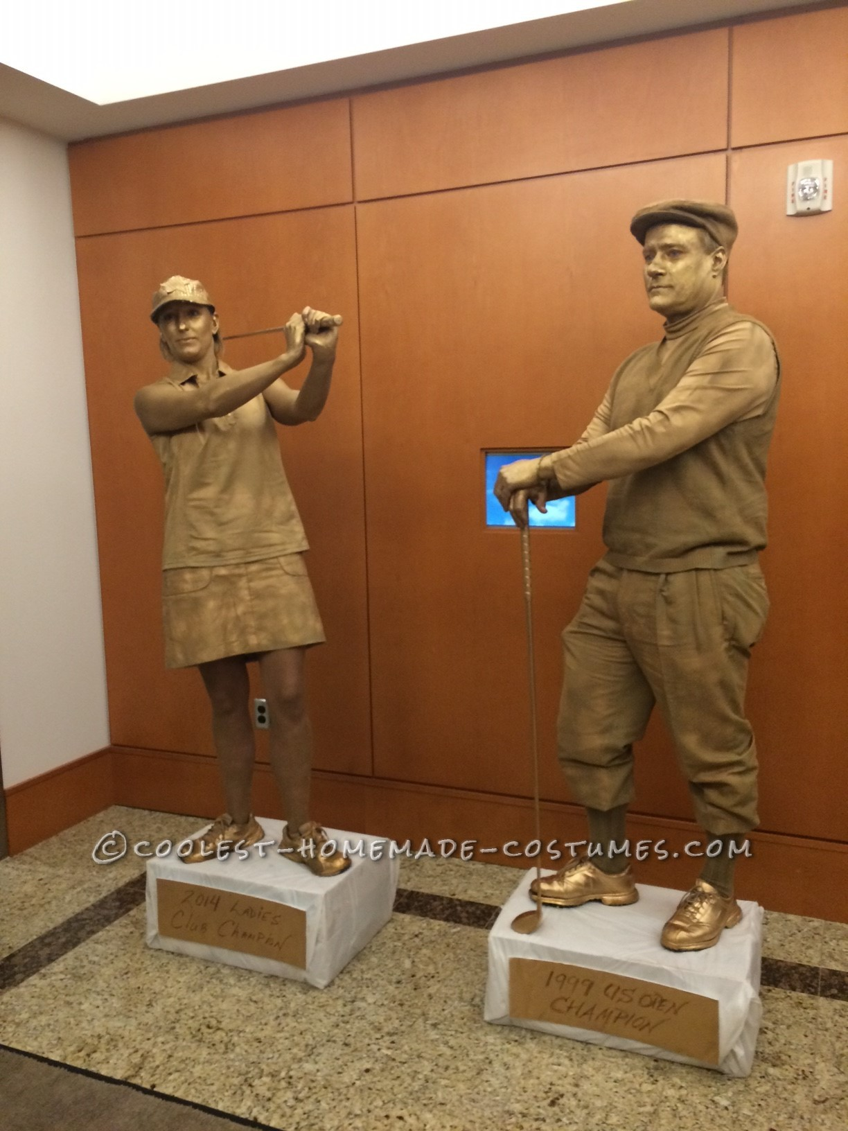 Coolest Living a Trophy Life Couple Costume