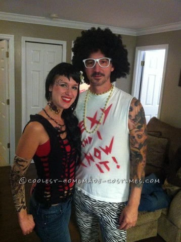 Easy LMFAO and Kat Von D Couple Costume