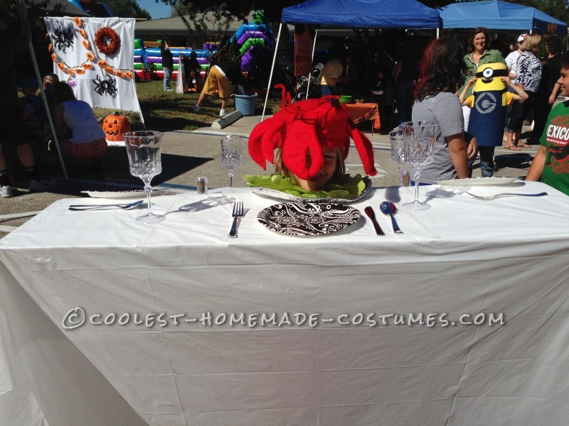 Cool Lobster Dinner Table Costume