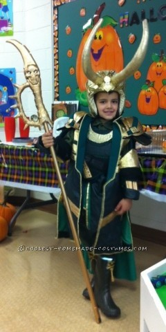 Homemade Loki Costume