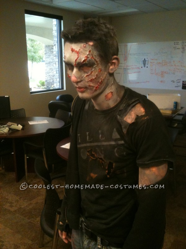 Made After Midnight Zombie Makeup and Costume - 2
