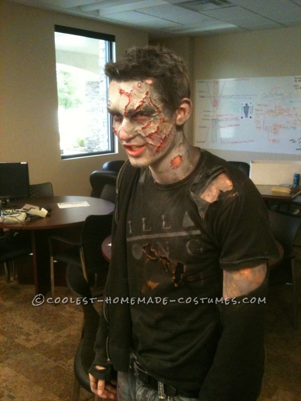 Made After Midnight Zombie Makeup and Costume - 3