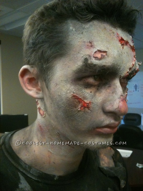 Made After Midnight Zombie Makeup and Costume - 1