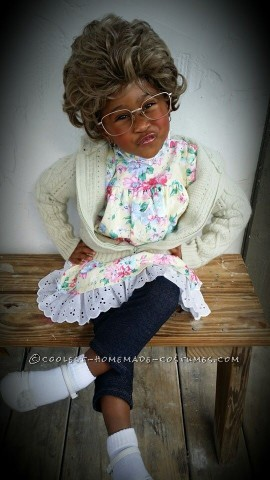 Madea Goes Trick or Treating in a Cool Grandma Costume