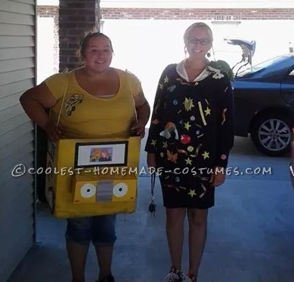 Coolest Magic School Bus and Ms. Frizzle Couple Costume
