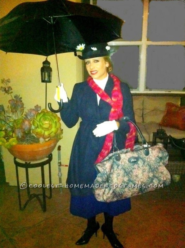 Cool Homemade Mary Poppins Costume