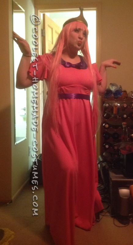 Awesome Princess Bubblegum Costume for a Woman