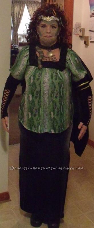 NH Pumpkin Festival Medusa Costume