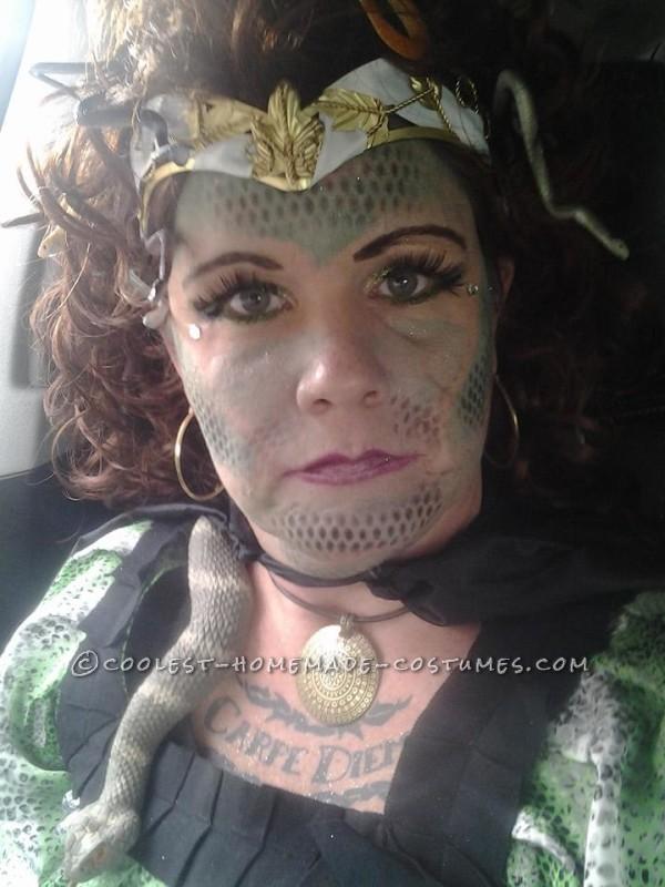 NH Pumpkin Festival Medusa Costume - 2