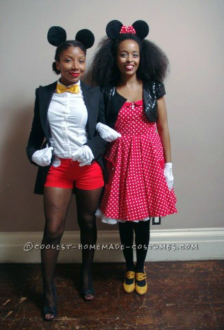 Coolest Mickey and Minnie BFF Couple Costume