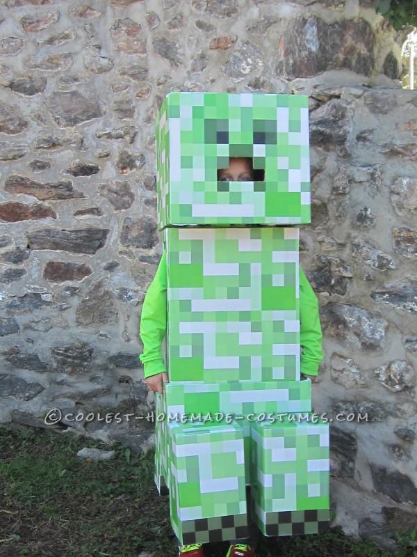Coolest Minecraft Creeper Costume
