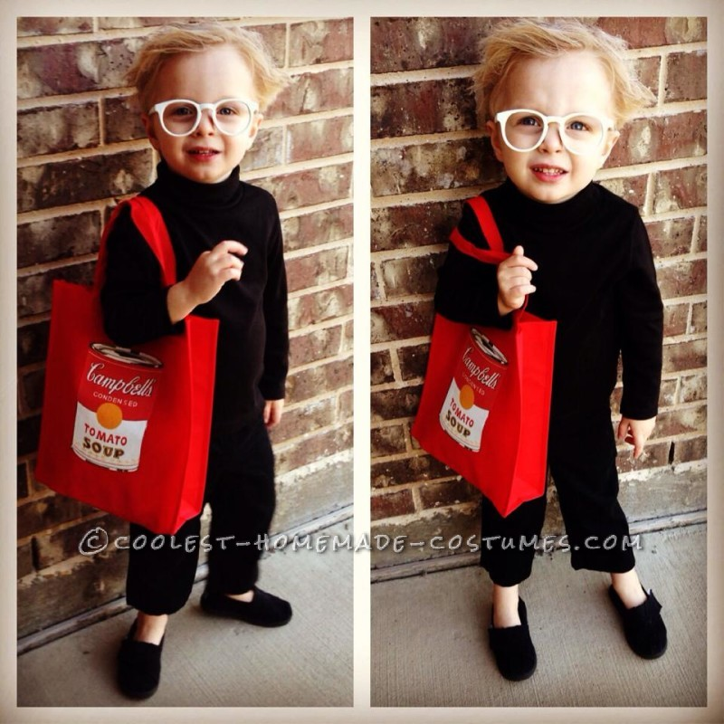 Mini Toddler Andy Warhol Costume
