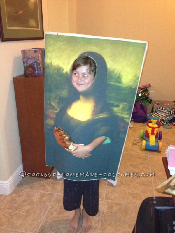 Original DIY Costume Idea: Mona Lisa