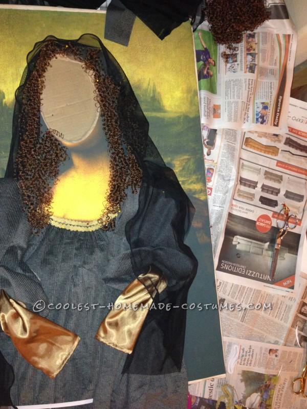 Original DIY Costume Idea: Mona Lisa - 3